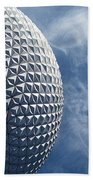 Epcot Architecture Beach Towel
