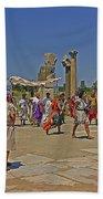 Ephesis Period Performers Beach Towel