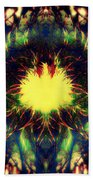 Epiphany Of The Labyrinth Beach Towel