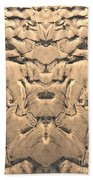 Golden Tidal Sands Beach Towel