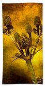 Eryngium Gold Beach Towel