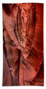 Escalante Red Slot Beach Towel