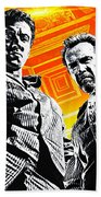 Escape Plan 2013  Beach Towel