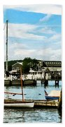 Essex Ct Marina Beach Towel