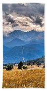 Estes Park From Glen Haven 3 Beach Towel