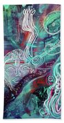 Eternal Woman Beach Towel by Mimulux patricia No
