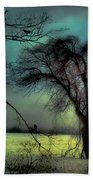 Ethereal Trees Beach Towel