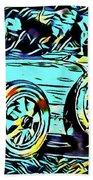 Ettore's Dream Cars Beach Towel