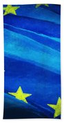 European Flag Beach Towel