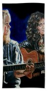 Eva Cassidy And Katie Melua Beach Towel