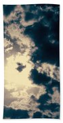 Evanston Cloudburst Beach Towel