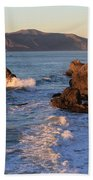 Evening At Land's End Beach Towel