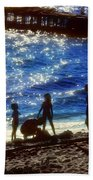 Evening At The Beach Beach Towel