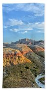 Evening At Yellow Mounds 2 Beach Towel