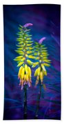 Aloe Flowers Beach Towel