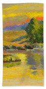 Evening Color Beach Towel