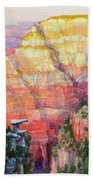 Evening Colors  Beach Towel