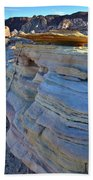 Evening In Valley Of Fire State Park Beach Towel