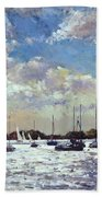Evening Light - Gulf Of Morbihan Beach Towel