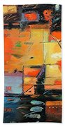 Evening Light Beach Towel