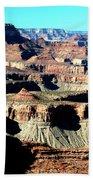 Evening Light Over The Grand Canyon Beach Towel