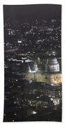 Evening London Beach Towel