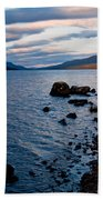 Evening On Loch Rannoch Beach Towel