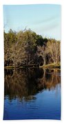 Evening On The Speed River Beach Towel