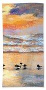 Evening Prayer Beach Towel