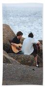 Evening Song Beach Towel