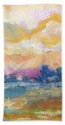 Evening Walk Beach Towel