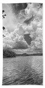 Everglades Lake - 0278abw Beach Towel