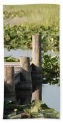 Everglades Pier Beach Towel