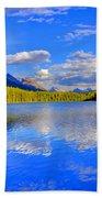 Evergreen Lake Beach Towel