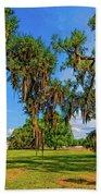 Evergreen Plantation Beach Towel
