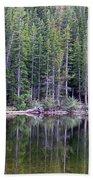 Evergreen Reflections Beach Towel