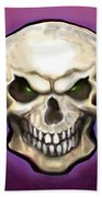 Evil Skull Beach Towel