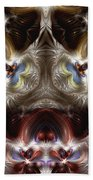 Exogenic Symmetry 1 Beach Towel