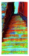 Exorcist Steps Beach Towel