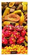 Exotic Fruit Beach Towel