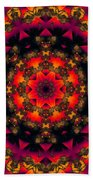 Exotic Nights Beach Towel