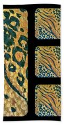 Exotic Repetitions Beach Towel