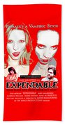 Expendable Poster Beach Sheet
