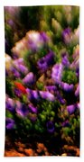 Exploding Flowers 2 Beach Towel