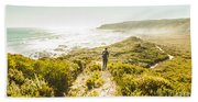 Exploring The West Coast Of Tasmania Beach Towel
