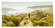 Exploring The West Coast Of Tasmania Beach Sheet