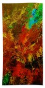 Explosion Of Colour Beach Towel