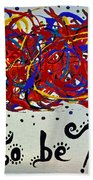 Expression Beach Towel