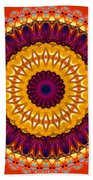 Expression No. 7 Mandala Beach Towel