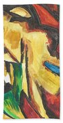 Expressionism Beach Towel